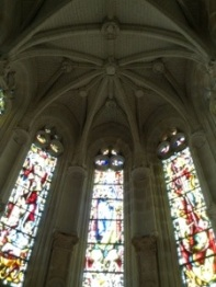 Stained glass in Chenanseau