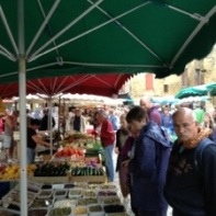 at the market