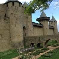 Carcassonne from a distance