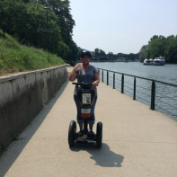 Mommy on a Segway!