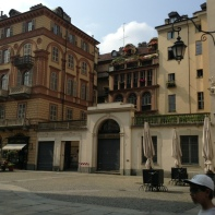 A cool building in Turin....