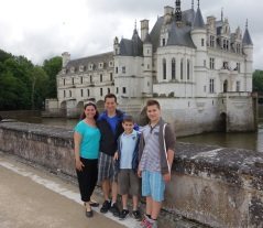 One of our favourite chateaus - Chenonceau