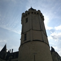 The main tower of the Chateau.