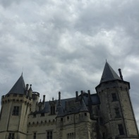 The Chateau of Saumur.