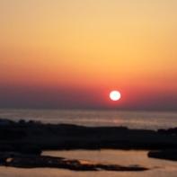 A very pretty sunset.