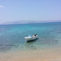 A clasic Greek boat.