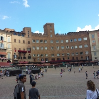 The main square of Sienna.